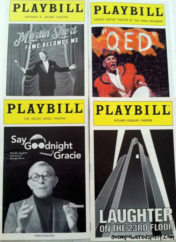 Broadway Playbills Magic