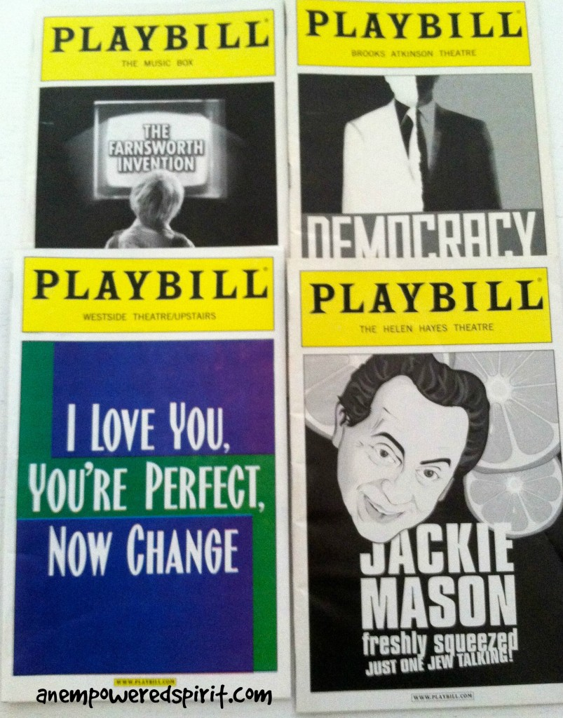 Playbills Broadway Magic