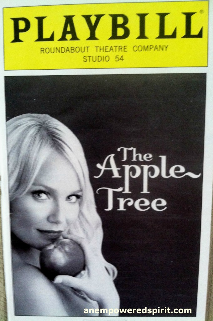 Playbills The Apple Tree
