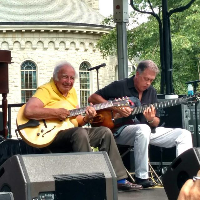 After a recent stroke the great jazz guitarist Bucky Pizzarellihellip