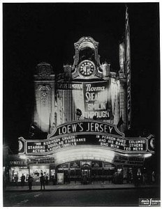 Loew's Jersey City theater movies Frank Bing