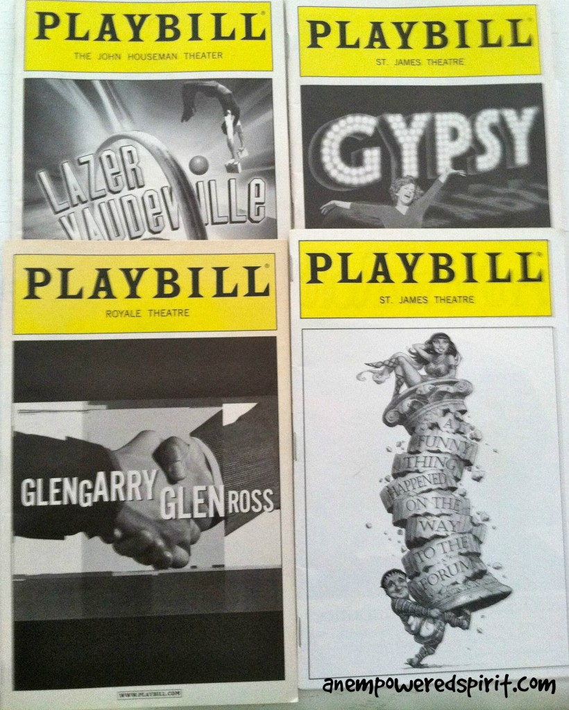 Our Collection Of Broadway Playbills Tells The Story Of