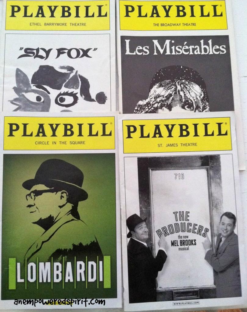 Playbills Broadway Magic