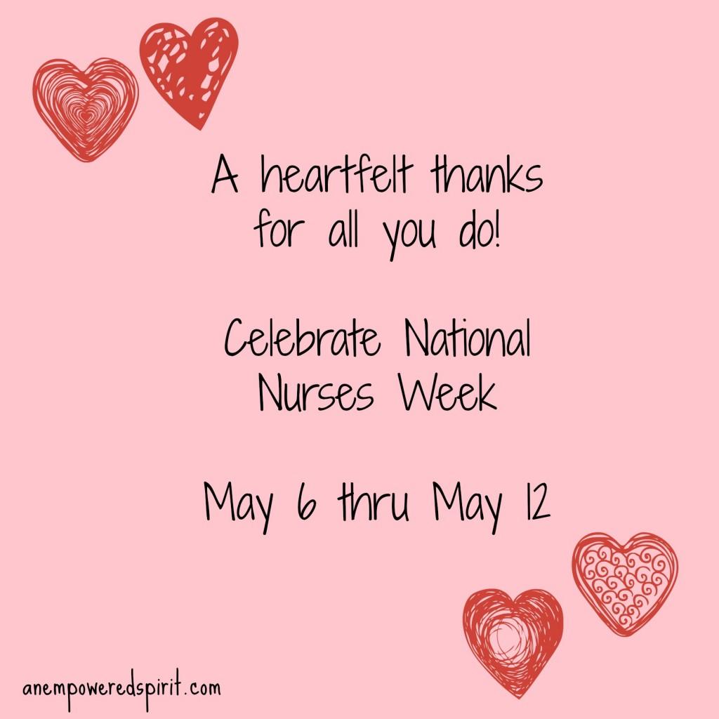 Thank A Nurse This Week As We Celebrate National Nurses Week - Cathy Chester