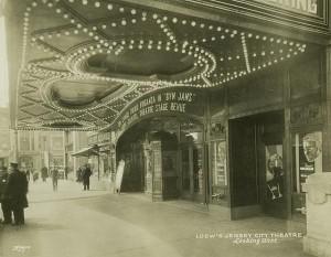 Loew's Jersey City theater movies Frank Bing